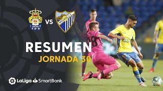 Resumen de UD Las Palmas vs Málaga CF (1-1)
