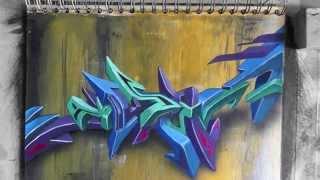 HUSH graffiti and blackbook work