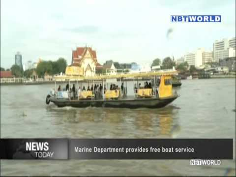 Marine Department provides free boat service