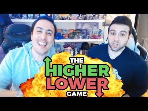 NOS JUGAMOS UNA CENA? HIGHER LOWER #1