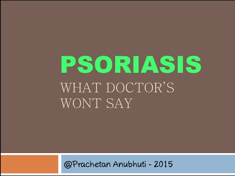 Psoriasis | What dermatologist wont reveal