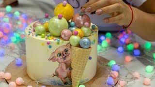 Новогодний🎄 торт 2019🐷- Я - ТОРТодел!