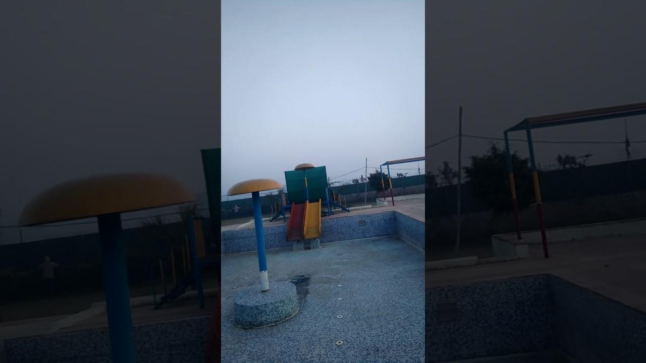 New slide in G K water park Firozabad