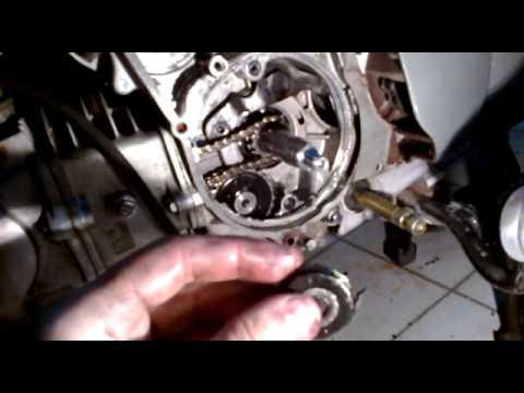 Tensor cadena distribucion moto 110