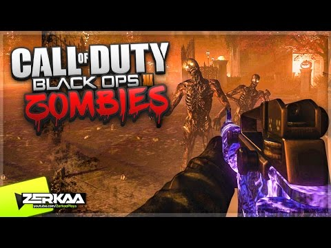 ZOMBIE HALLOWEEN (BEST CUSTOM ZOMBIES MAP!?) (Black Ops 3 Custom Zombies)