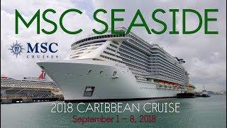 MSC Seaside - 2018 Fall Caribbean Cruise