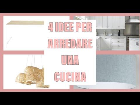 Quattro idee e stili per arredare una cucina
