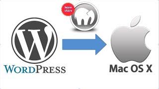 How to Install Wordpress Website on Mac, Windows (MAMP)