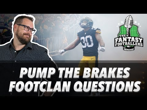 Fantasy Football 2018 - Pump the Brakes, No-Bell Prize Winners, Counting Crows - Ep. #650