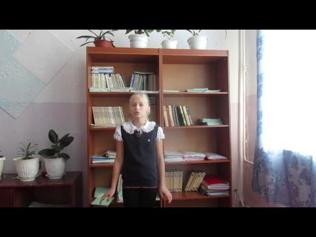 Изображение предпросмотра прочтения – ВикторияЗлобина читает произведение «Свинья под дубом» И.А.Крылова