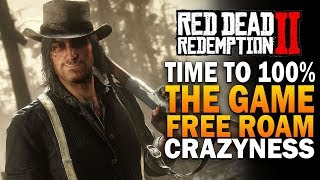 Time To 100% The Game With Max Bounty - Red Dead Redemption 2 Free Roam