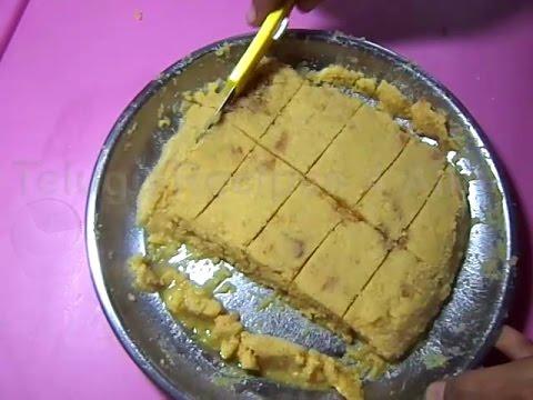 how to cook mysore pak