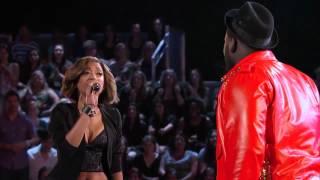 The Voice Battle Round - Amanda vs Trevin - Vision of love