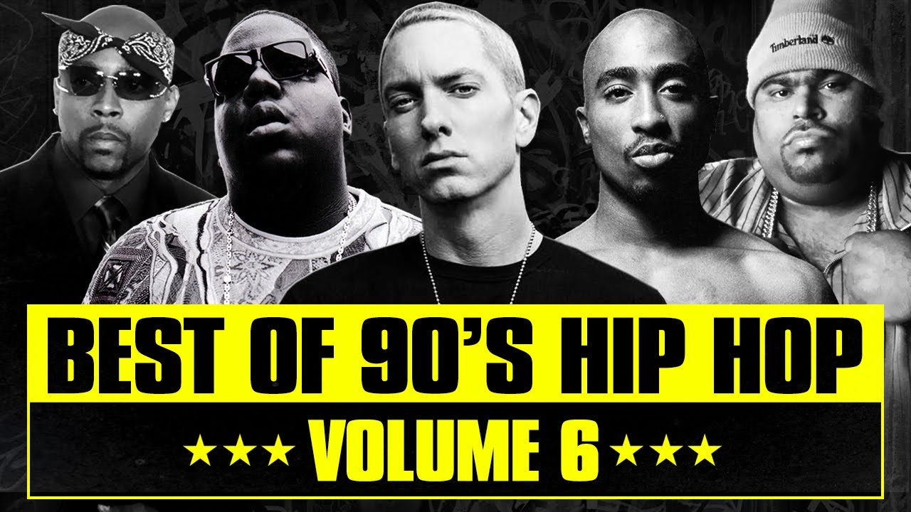 90's Hip Hop Mix #06 | Best of Old School Rap Songs | Throwback Rap Classics | Westcoast | East