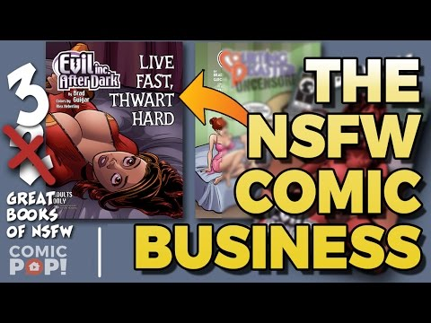 NSFW COMICS  | The Elseworlds Exchange Podcast