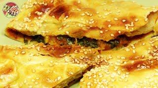Пряный пирог с тыквой, чесноком, луком, имбирём и фасолью. Просто! Вкусно! Недорого!.