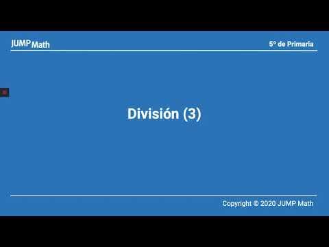 5º. Unidad 4. Dividir III