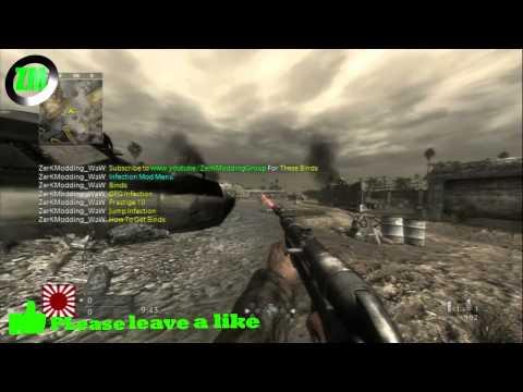 World at War ZerK´s Binds Mod Menu + Tutorial + Download