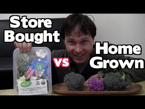 Home Grown vs Store Bought - Which is Best and Why