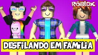 PARING IN FAMILY-Roblox (Fashion Frenzy) Ft. Milena
