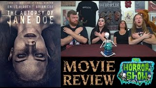 """""""The Autopsy of Jane Doe"""" 2016 Horror Movie Review - The Horror Show"""