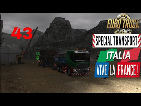 Let's Play Euro Truck Simulator 2 - Italia DLC Part 43 Special Transport Huge Tyres