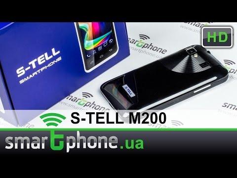 S-TELL M200 - обзор Android смартфона с ценником в 66 у.е.