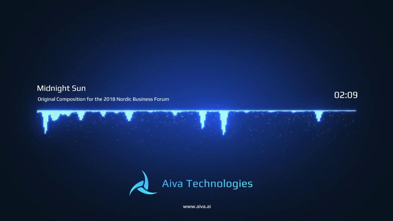 AIVA - Midnight Sun, Original AI composition for the Nordic Business Forum  2018