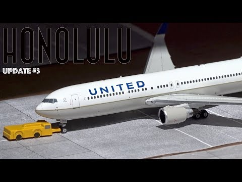 [Homemade] 1/400 Daniel K. Inouye Honolulu International Airport | Update #3