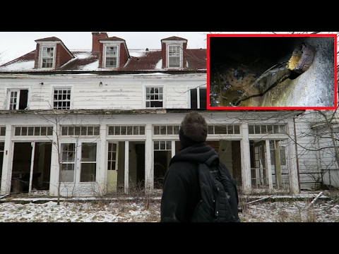 Abandoned Mansion with Private Dam
