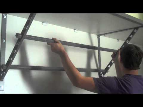Monkey Bars Of North Carolina Storage Garage System Product Overview