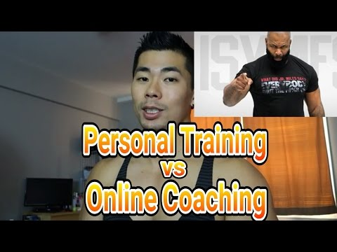Personal Training vs Online Coaching