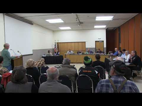 March 19 2018 Stayton City Council