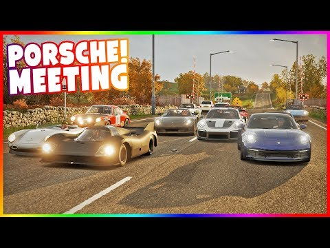 PORSCHE MEETING - ODJECHANY BATMOBILE! | FORZA HORIZON 4 thumbnail