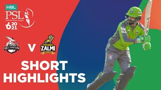 Short Highlights | Lahore Qalandars vs Peshawar Zalmi | Match 2 | HBL PSL 6 | MG2T