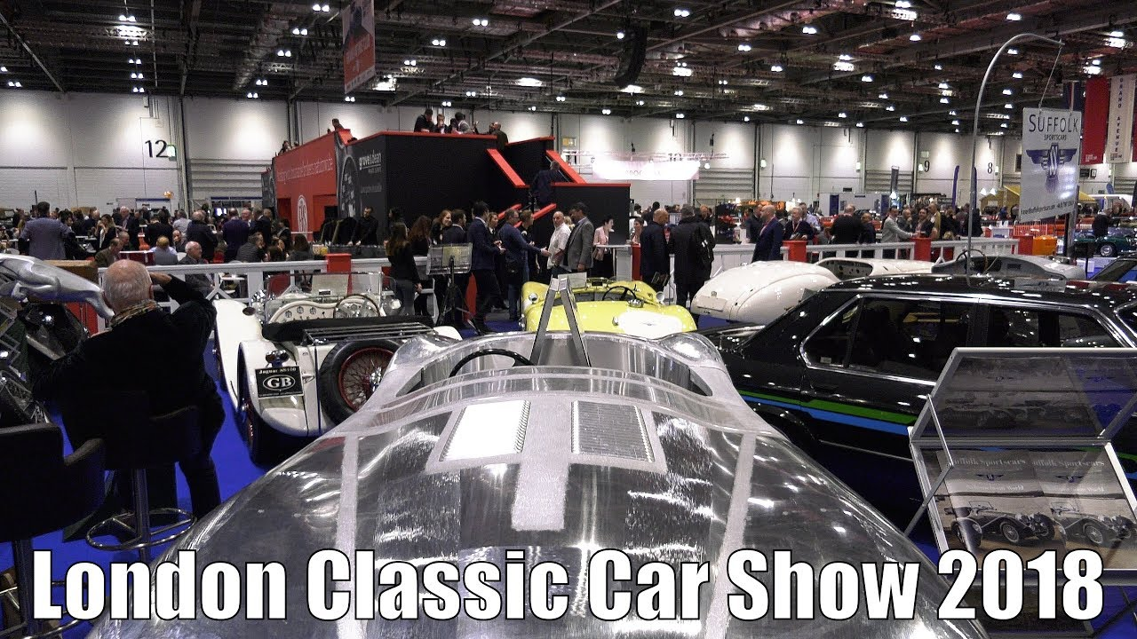 London Classic Car Show In Minutes YouTube - London classic car show 2018
