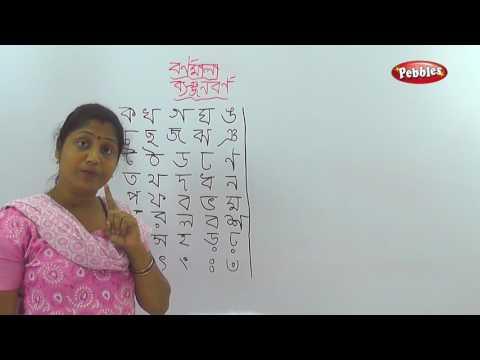 Bengali Alphabet Learning   Bornomala   Banjonborno   How To Write Bengali Consonants Alphabets