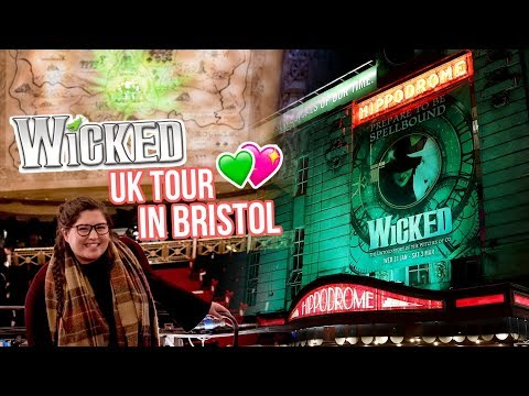 WICKED the Musical (Tour) in Bristol - Seeing a New Glinda! 💖 REVIEW (Rukaya Cesar)
