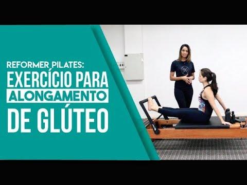 Reformer Pilates: Exercício para Alongamento de Glúteo