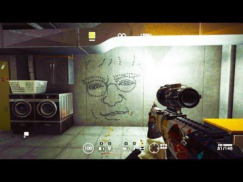 Rainbow Six Siege - Random Moments #43 (Gun Drawing Masterpiece, Casual Trolling)