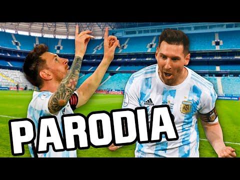 Canción Argentina Copa América 2021 (Parodia Pareja del Año - Sebastián Yatra, Myke Towers) vs Chile