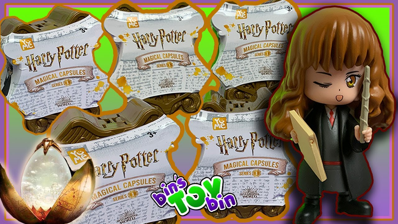 NEW Harry Potter Magical Capsules by YuMe Blind Bags Figures