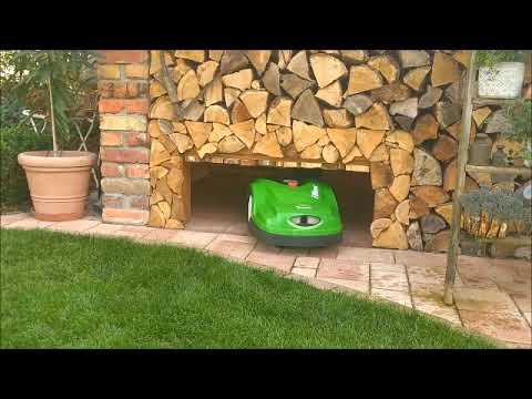 robotic mower automatic garage door - Automatische Tür Tor für Mähroboter Roboter Rasenmäher Garage