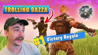 One of Crayator's most viewed videos: Trolling my Friend in Fortnite! ft. BazzaGazza - Fortnite Battle Royale