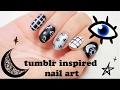 Tumblr inspired Nail art