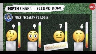 Depth chart: Ireland's second row options | Mike McCarthy #OTBAM