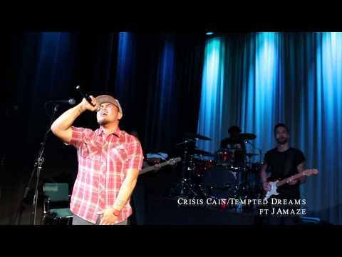 "Crisis Cain ""Tempted Dreams"" LIVE Performance @ Release Party"