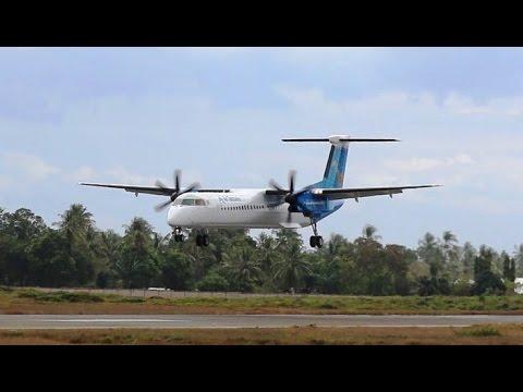 Ndege mpya ya Air Tanzania ilivyowasili Dar