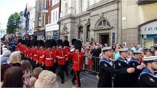 Armed Forces Day Parade through Exeter - 21st June 2014