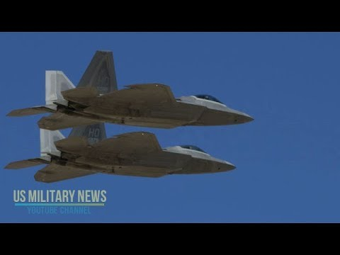 the f 22 raptor came face to face with russia s top fighter jets and